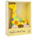 Sunnylife Giraffe Push 'n' Pull Toy