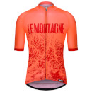 Santini Alpi Jersey - Flashy Orange - S