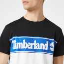 Timberland Men's Cut And Sew T-Shirt - Black