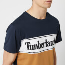 Timberland Men's Cut And Sew T-Shirt - Dark Sapphire
