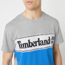 Timberland Men's Cut and Sew T-Shirt - Medium Grey Heather
