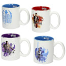 Star Wars: Episode VIII Espresso Mugs Set