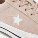 Converse Women's One Star Ox Trainers - Particle Beige/White/Black