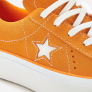 Converse Women's One Star Platform Ox Trainers - Field Orange/White
