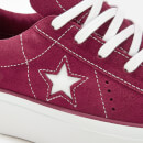 Converse Women's One Star Platform Ox Trainers - Rhubarb/White