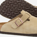 Birkenstock Men's Boston Suede Mules - Taupe