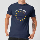 B*llocks To Brexit Men's T-Shirt - Navy