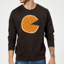 Pizza Missing Sweatshirt - Black