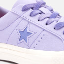 Converse Women's One Star Ox Trainers Washed LilacWild LilacEgret