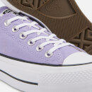 Converse Women's Chuck Taylor All Star Lift Ox Trainers - Washed Lilac/Black/White