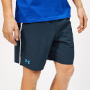 Under Armour Men's Qualifier WG Perf Shorts - Academy/Ether Blue