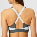 Under Armour Women's Vanish Mid Rib Bra - Pitch Grey