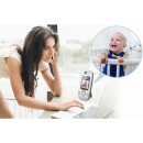 "Vtech Safe & Sound 2"" Video Baby Monitor - VM312"