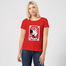 Looney Tunes Lucky In Love Pepe Le Pew Women's T-Shirt - Red