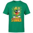 Looney Tunes Stunner Marvin The Martian Men's T-Shirt - Kelly Green