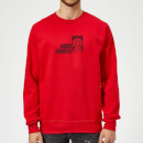 Super Mario Her Hero Sweatshirt - Red