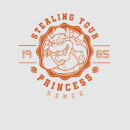 Super Mario Princess Stealer Men's T-Shirt - Grey