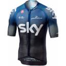 Team Sky Climber's 3.0 Jersey - Black/Dark Ocean