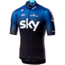 Team Sky Squadra Jersey - Black/Dark Ocean