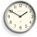 Newgate Master Edwards Wall Clock - Galvanised Steel