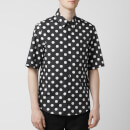 Versus Versace Men's Dot Shirt - Black/White