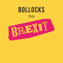 Bollocks To Brexit Men's T-Shirt - Yellow