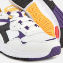 Diadora Whizz Run Trainers - White/Black/Mulberry Purple