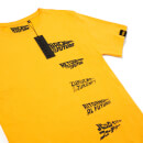 T-shirt Global Legacy Retour vers le Futur DeLorean - Jaune
