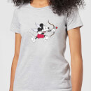 Disney Mickey Cupid Pocket Women's T-Shirt - Grey