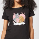 Disney Lady And The Tramp Love Women's T-Shirt - Black