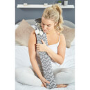Warmies Extra Long Hot Water Bottle - Grey Nordic