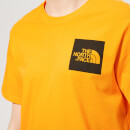 The North Face Men's Short Sleeve Fine T-Shirt - Zinnia Orange