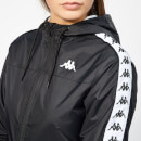 Kappa Women's Banda Lawson Rain Jacket - Black