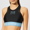 P.E Nation Women's Figure Four Crop Top - Black