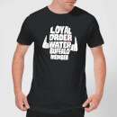The Flintstones Loyal Order Of Water Buffalo Member Men's T-Shirt - Black