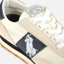 Polo Ralph Lauren Men's Train 90 PP Runner Style Trainers - Egret/White