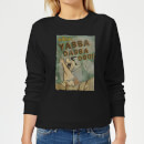 The Flintstones Yabba Dabba Doo! Women's Sweatshirt - Black
