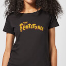 The Flintstones Logo Women's T-Shirt - Black