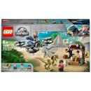 LEGO Jurassic World: Dilophosaurus On The Loose Set