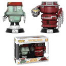 Star Wars Solo Fight Droids EXC Pop! Vinyl 2-Pack