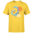 Looney Tunes ACME Lash Curler Men's T-Shirt - Yellow