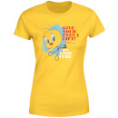 Looney Tunes ACME Lash Curler Women's T-Shirt - Yellow