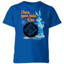 Looney Tunes ACME Insta Hole Kids' T-Shirt - Royal Blue