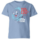 Looney Tunes ACME Lash Curler Kids' T-Shirt - Sky Blue