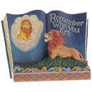 Figurine Disney Traditions – Livre Le Roi lion – Remember Who You Are 14 cm