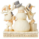 Disney Traditions Frosty Friendship (White Woodland Mickey and Friends) 15.0cm