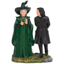 Harry Potter Village Professor Snape and Professor Minerva McGonagal 9.0cm
