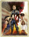 Captain America: The First Avenger 4K Ultra HD (Includes 2D Blu-ray) Zavvi Exclusive SteelBook