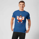 Wreck-it Ralph This Is My Happy Face Men's T-Shirt - Royal Blue