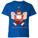 Wreck-it Ralph This Is My Happy Face Kids' T-Shirt - Royal Blue